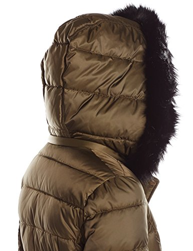 Coat Women's Green Front Puffer Pockets Traders Military with Halifax qaAtT