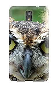 Fashionable WDiFLya6795nDPxH Galaxy Note 3 Case Cover For Great Horned Owl Protective Case
