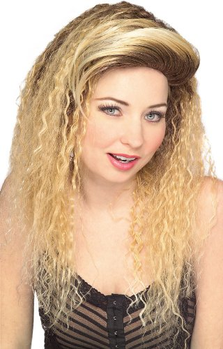 Rubie's Jersey Girl Blond Wig, Yellow, One Size