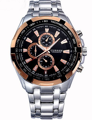 WATCH Hombres Relojes Curren marca lujo hombres militares muñeca relojes acero completo hombres deportes reloj resistente al agua Relogio Masculino, ...