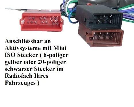 Auto Radio AKTIV System Adapter für Audi A2 A3 A4 B5 A6 A8 TT Bose ...