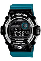 G-Shock G-8900 Crazy Color Trending Series Men's Luxury Watch - Glossy Blue / One Size