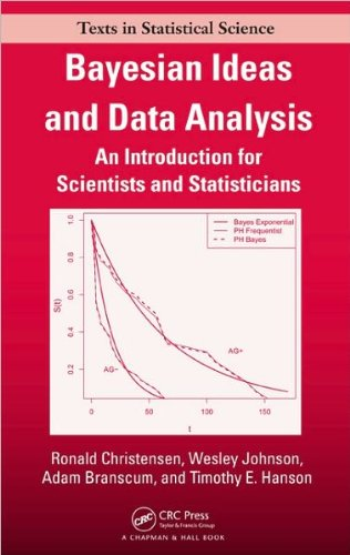 Ronald Christensen,Wesley O. Johnson,Adam J. Branscum,Timothy E. Hanson'sBayesian Ideas and Data Analysis: An Introduction for Scientists and Statisticians (Chapman & Hall/CRC Texts in Statistical Science) [Hardcover](2010)