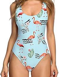 b0ee0b3d88c Womens Monokini Swimsuits Sexy High Cut Low Back Bikini One Piece Swimwear  Bathing Suits