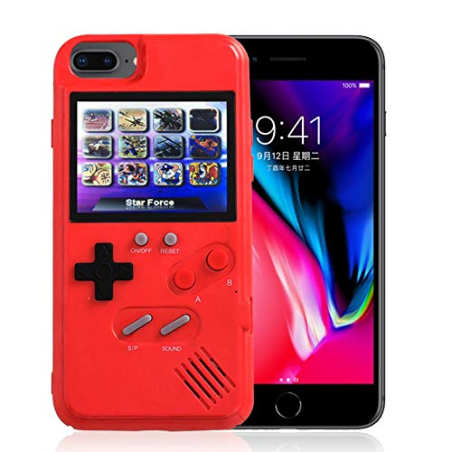 AOLVO Gameboy Case for iPhone, 3D Retro Handheld Game Console Video Game Cover Case with 36 Games, Full Color Display for iPhone Xs/X,iPhone8/8 Plus,iPhone 7/7 Plus,iPhone 6/6Plus (Iphone Game Case Controller)