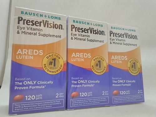 Preservision Vitamin Mineral Supplement Lutein