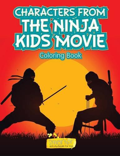 Characters From the Ninja Kids Movie Coloring Book: Amazon ...