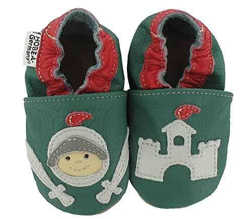 HOBEA Knight - Zapatos Unisex bebé verde oscuro