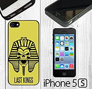 New Last Kings Custom made Case/Cover/Skin FOR iPhone 5/5s -Black- Rubber Case (Ship From CA)