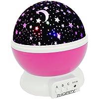 Night Lights for Kids, ZHOPPY Star and Moon Starlight...