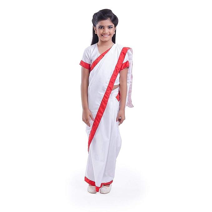 Amazon.com: N.U.W.A - Disfraz de profesor/Indira Gandhi para ...