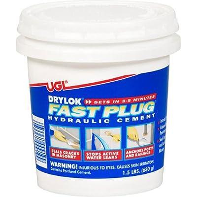 DRYLOK 00919 Fast Plug, 1.5-Pound