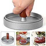 #7: MAONAME Hamburger Press Aluminum Burger Press Mold, Non-Stick Hamburger Patty Maker for BBQ, Essential Kitchen & Grilling Tools