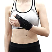 Thumb Stabilizer by Soles — Adjustable, Breathable Neoprene Brace — One Size Fits Most — Reduces Rheumatoid Arthritis Pain, Carpal Tunnel Syndrome & Stabilizes Ligaments — De'quervain
