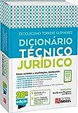 capa de Dicionário Técnico Jurídico Torrieri