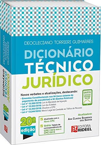 Dicionário Técnico Jurídico Torrieri
