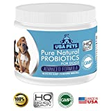 Uba Pets Probiotics for Dogs - Helps Combat Bad Breath, Poor Digestion and Skin Allergies. Daily Supplement with 74 Natural Minerals