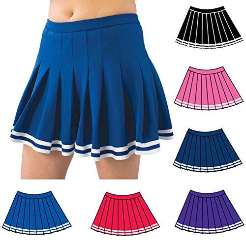 027a74058e Pizzazz Red Pleated Cheer Uniform Skirt Girls 6-8