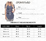 CPOKRTWSO Women's Short Sleeve Casual Tops Plain
