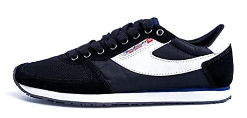 Diesel PASS ON - Zapatillas de soft tennis para hombre negro negro 42.5 (9 UK
