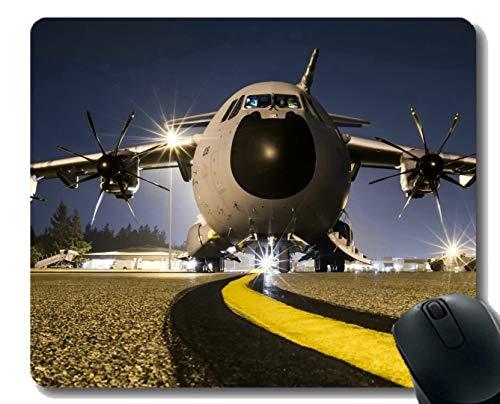 Cojin del Escritorio de Oficina, cojin de raton de los Aviones del Transporte de Airbus A400M para el Escritorio de la Oficina o la Estera del raton del Juego