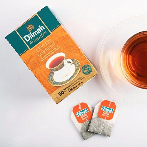 Dilmah CEYLON tea ENGLISH BREAKFAST|EARL GREY|CEYLON SUPREME|ENGLISH AFTERNOON (Ceylon Supreme)