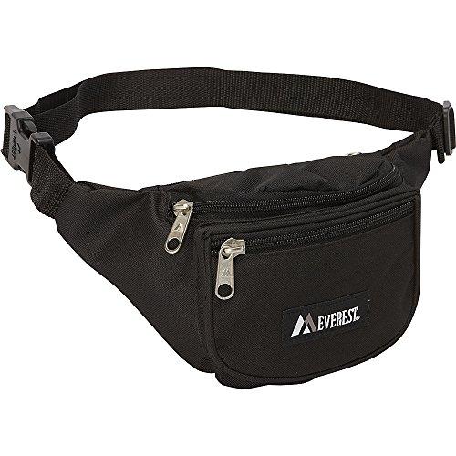 Everest Signature Waist Pack - Standard, Black