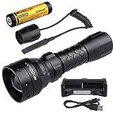 Evolva Future Technology T38 IR 38mm Lens Infrared Light Night Vision Flashlight Torch (Torch+Battery+Charger+Rat Tail)