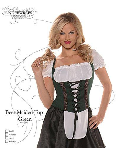 Corset Style Vest (Beer Maiden Top)