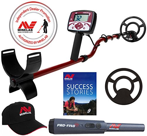 Amazon.com : Minelab X-Terra 305 Metal Detector with Accessory Package Pinpointer Hat Exclusive : Garden & Outdoor