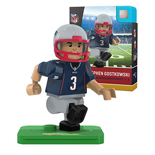 OYO NFL New England Patriots Gen4 Limited Edition Stephen Gostkowski Mini Figure, Small, White
