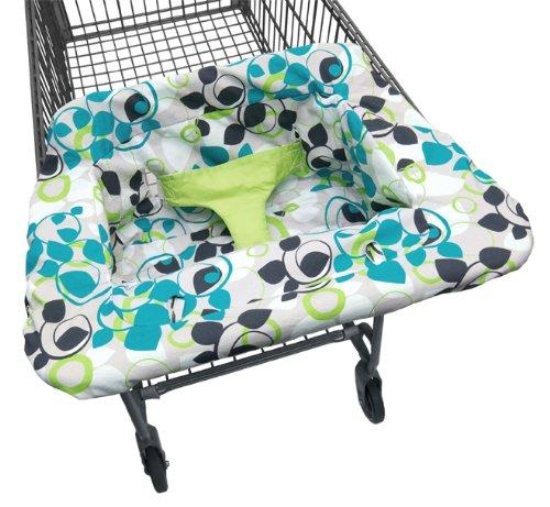 JJ Cole Shopping Cart Cover Blue Vine