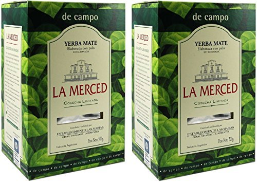 La Merced Yerba Mate (2 Pack of 500g)