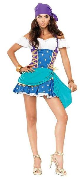 uhc teen girls gypsy princess circus theme fancy dress halloween costume teen jr s