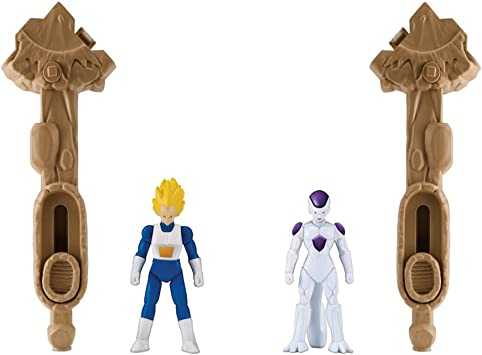 Dragon Ball Super - Vegeta & Freezer Pack de 2 combate (Bandai ...
