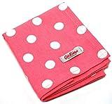 Cath Kidston Pink Button Spot Cotton Tea Towel
