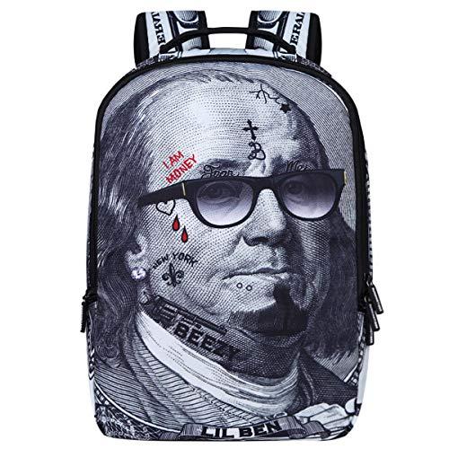 Backpack School Bag Book Bag for Boys Girls (Franklin)