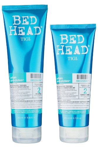 TIGI Bed Head Urban Anti Dotes Recovery Set (Shampoo 250ml + Conditioner 200ml)
