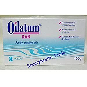 Amazon Com Oilatum Bar Soap For Sensitive Soap Skin 100 G