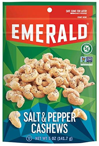 Emerald Pepper Cashews Stand Resealable