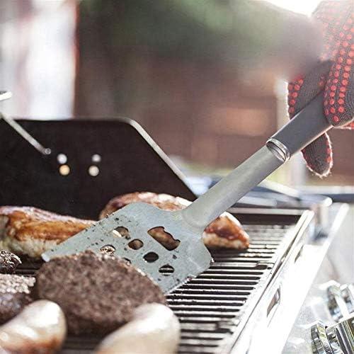 Outil Barbecue Ensemble 4pcs Barbecue en Acier Inoxydable Grill Tool Set Tong Brosse Fourchette Spatule BBQ Outil de Cuisine Pique-Nique BBQ Outils Set Dropshipping LPLHJD