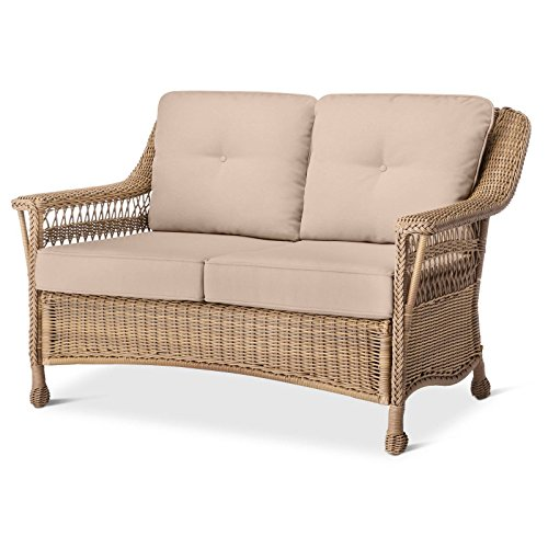 Cambridge All Weather Wicker Loveseat with - Frame Cambridge Store