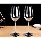 Artcraft 2 Packs Wine Glasses Set - Inofia Opulent Crystal Wine Glasses Lead Free Chef&Sommelier Cabernet Tulip Classic Durable Wine Cups Luxury Dinner Glassware 17 Ounce in Boxed Set Ideal for Gifts