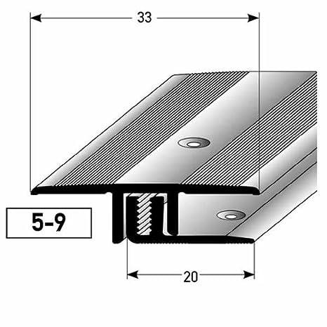 2 metros (2 x 1 m) - Perfil de transición (laminado ...