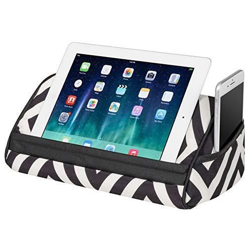 LapGear Designer Tablet Pillow - Black Diamonds (Fits up to 10.5 Tablet)