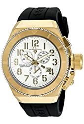 Swiss Legend Men's 'Trimix Diver' Swiss Quartz Stainless Steel Casual Watch (Model: 13844-YG-02-GBA)