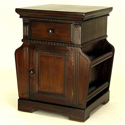 Charleston Magazine Cabinet, Brown by Charleston