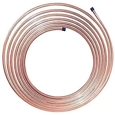 Fuel 50 ft 1/4 in Copper-Nickel Brake 8,932 PSI  028 Longest