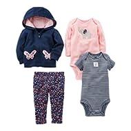 Baby Girls' 4-Piece Little Jacket Set