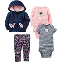 Simple Joys by Carter's Baby Girls' 4-Piece Little Jacket Set